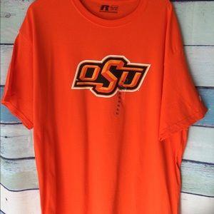 Russell athletics OSU orange shirt
